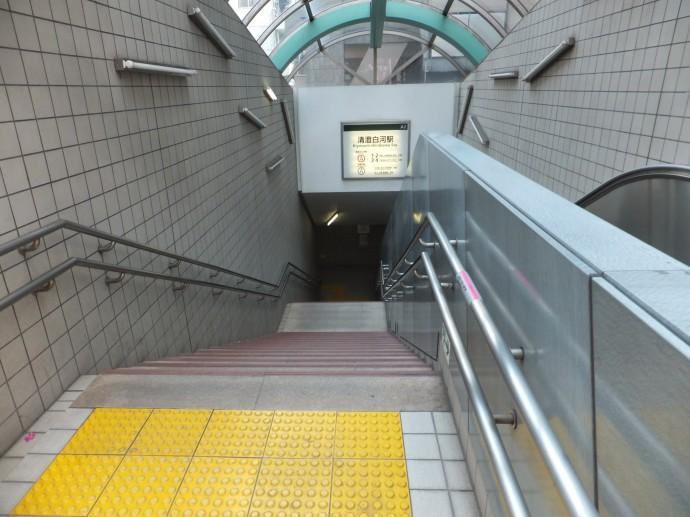 大江戸線清澄白河駅