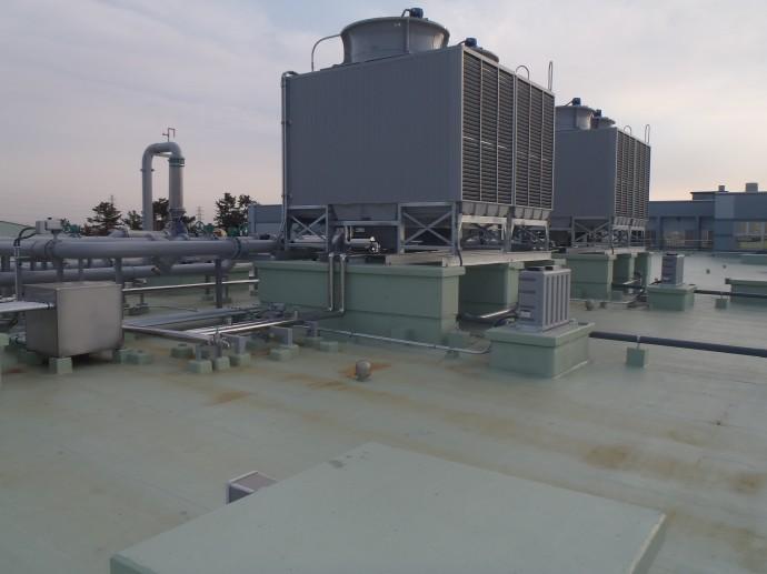 神奈川職業訓練支援センター_冷却塔
