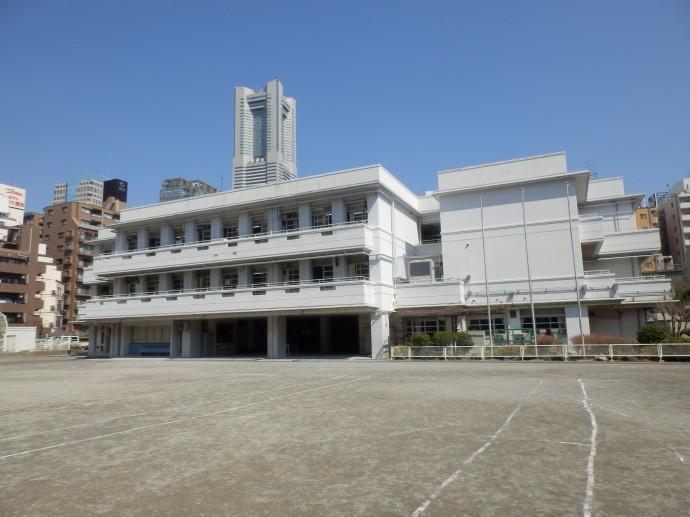 本町小学校_全体図