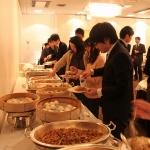 中華料理と洋食のビュッフェも美味しく頂きました。
