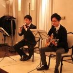 ギターとリコーダーで奏でられるハーモニーは素敵でした。