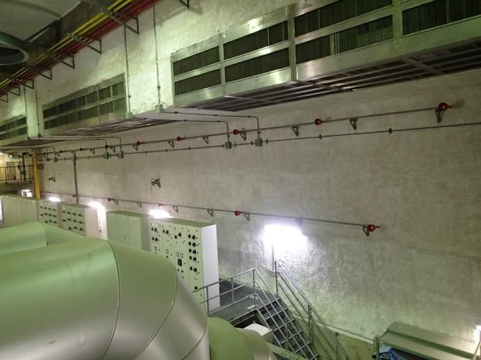 都筑水再生センター第二ポンプ施設ほか7か所特殊消火設備改築工事監理業務委託