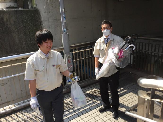 清掃活動②